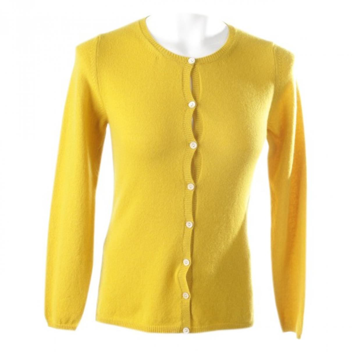 Autre Marque - Pull   pour femme en cachemire - jaune