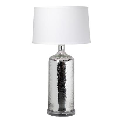 Briggs Collection RM-1043-30 Table Lamp with Glass Material in Silver
