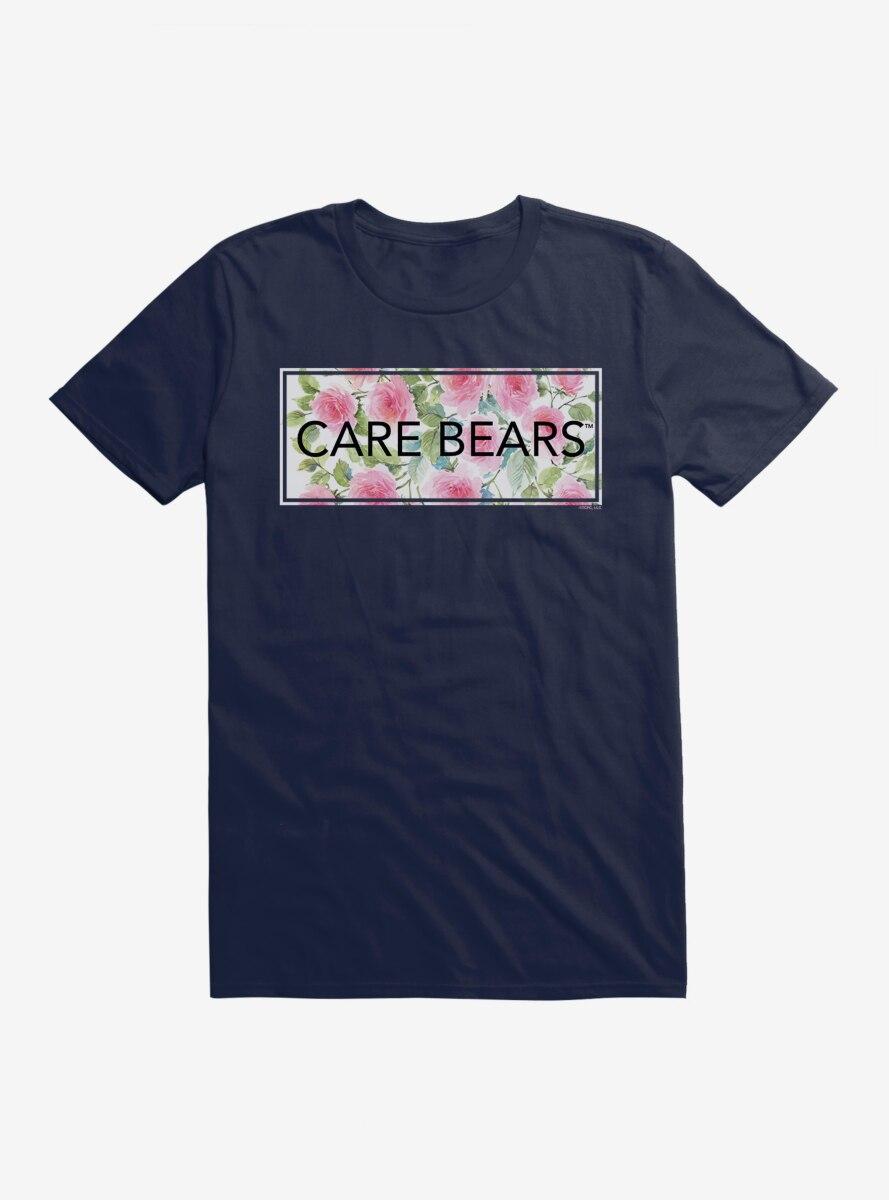 Care Bears Bold Floral Script T-Shirt
