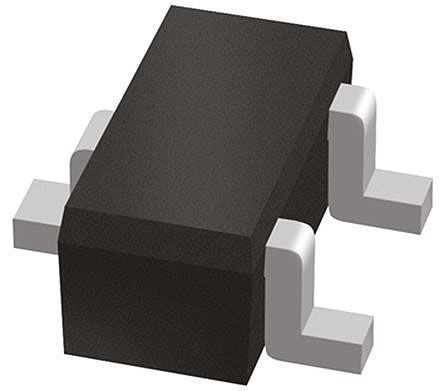 ON Semiconductor SZESD7102BT1G, Dual-Element Bi-Directional ESD Protection Diode, 3-Pin SOT-416 (SC-75) (3000)