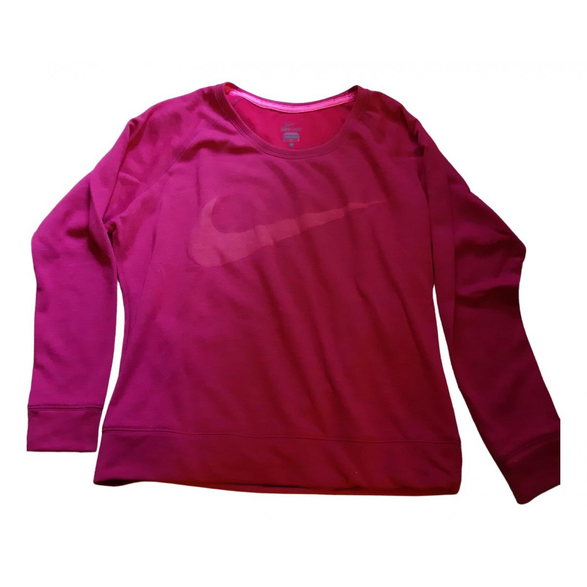 Nike - Pull   pour femme - rose