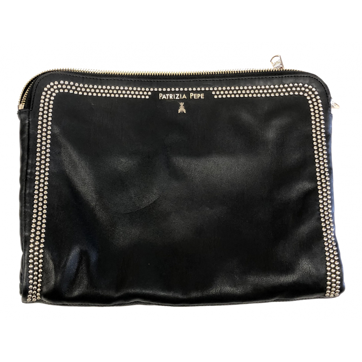 Patrizia Pepe N Black Leather Clutch bag for Women N