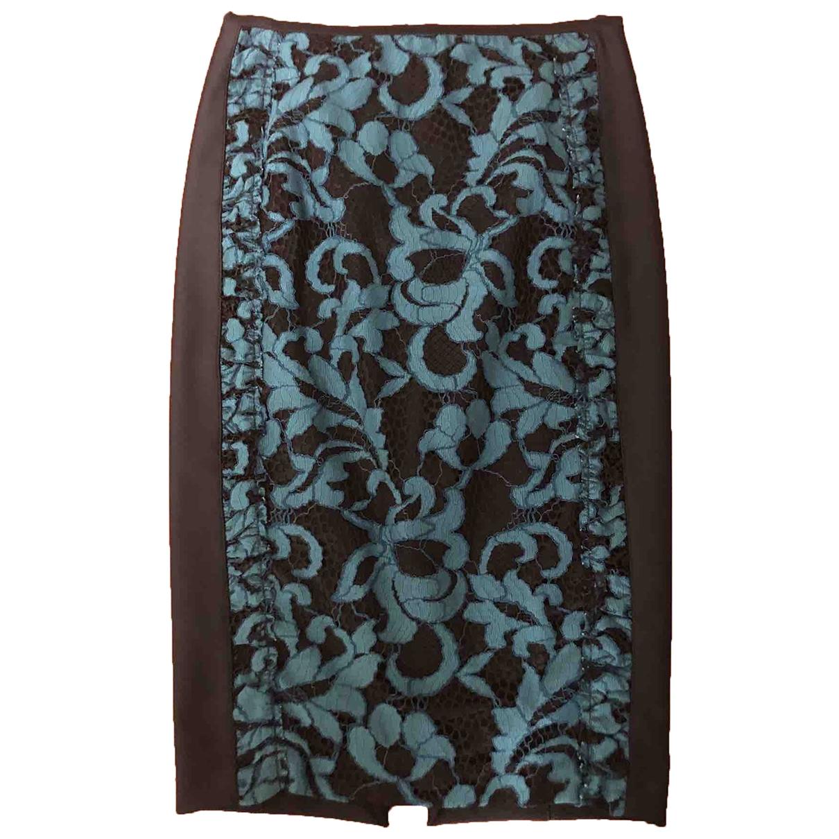 Pinko - Jupe   pour femme en coton - elasthane - noir