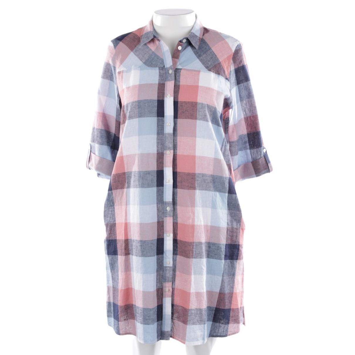 Barbour \N Multicolour Cotton dress for Women 40 FR