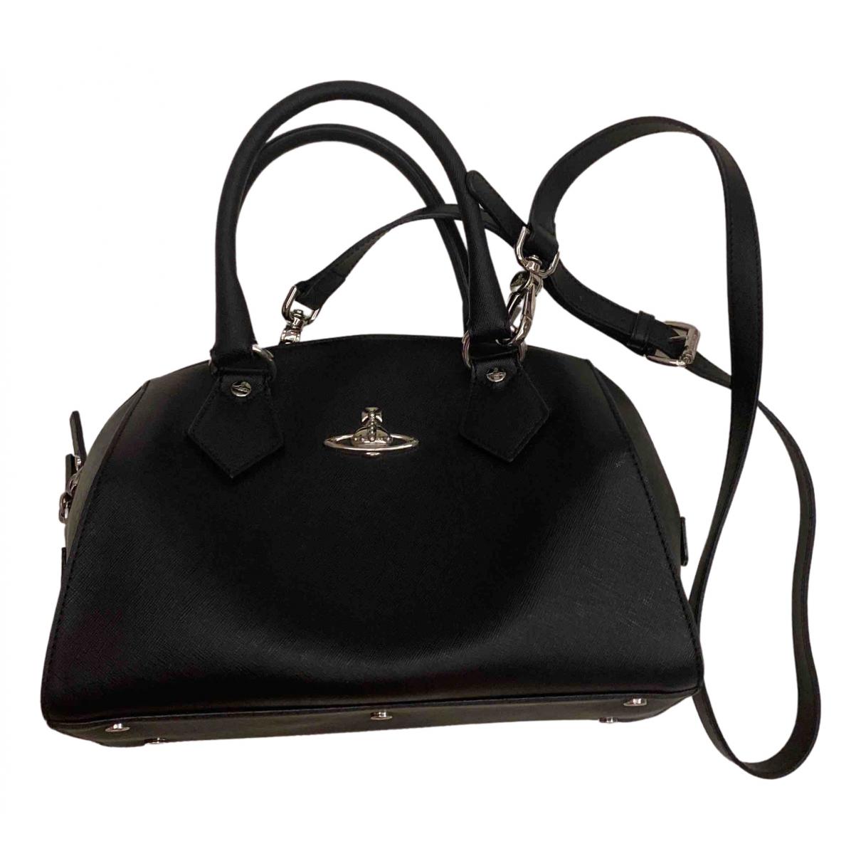 Vivienne Westwood N Black Leather handbag for Women N