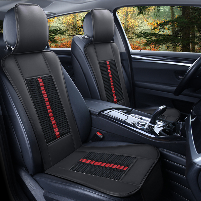 Simple Design Easy to Install&Clean Leather Universal Single-seat Car Seat Cover