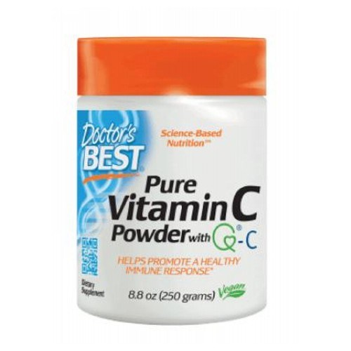 Vitamin C with Quali-C 250 Grams by Doctors Best