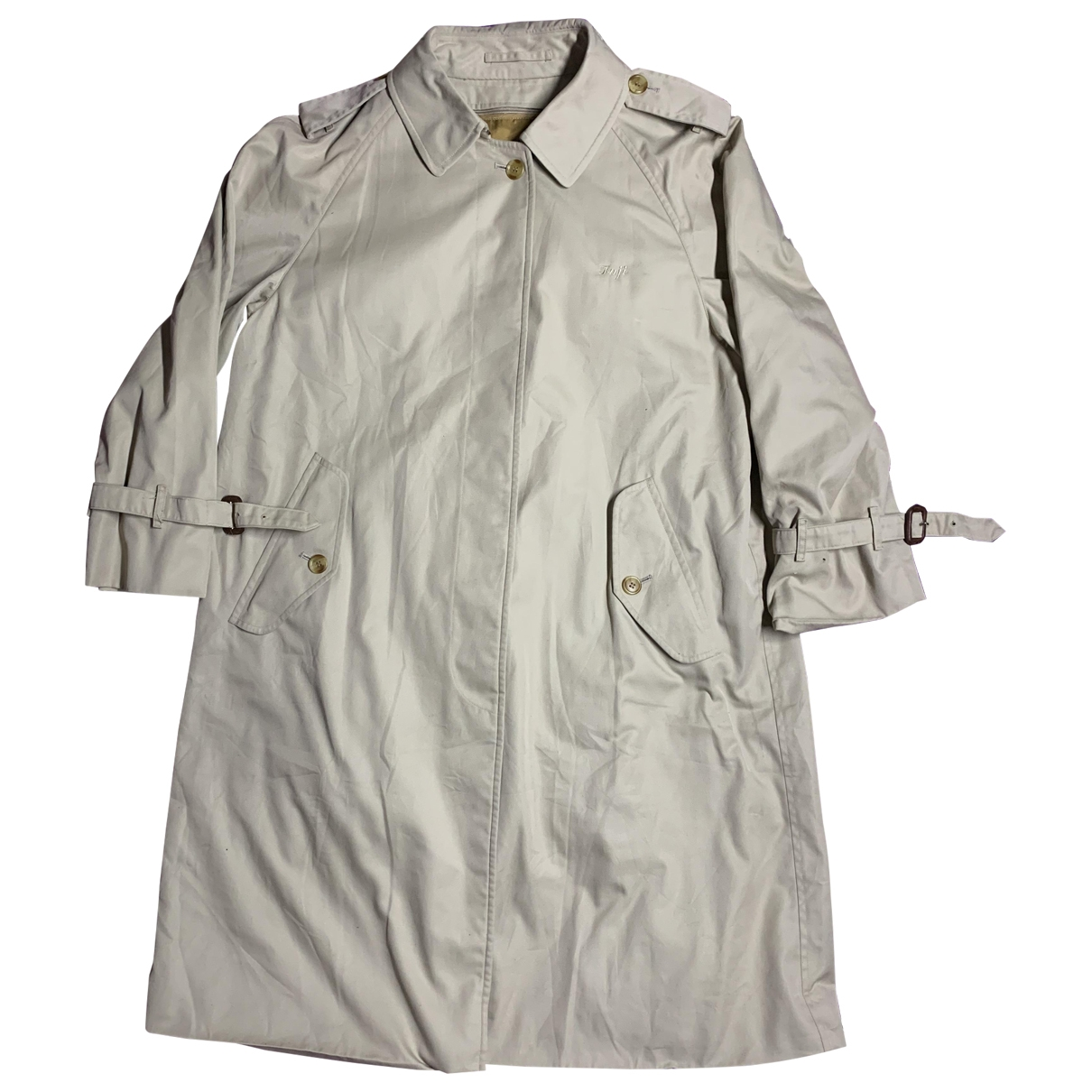 Burberry \N Trench in  Braun Baumwolle