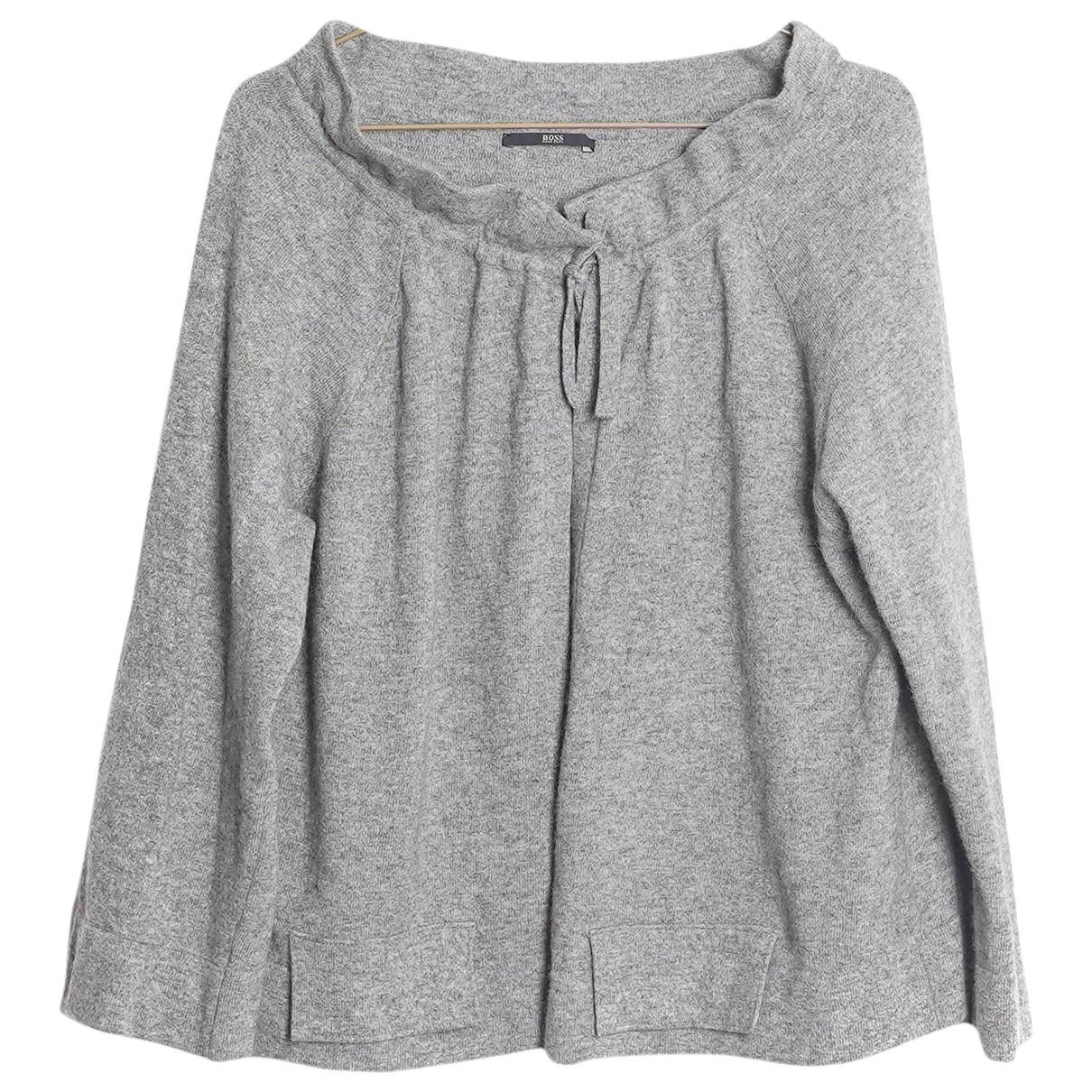 Boss \N Grey Wool Knitwear for Women S International