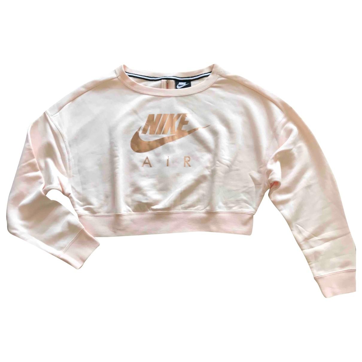 Nike \N Pink Cotton Knitwear for Women S International
