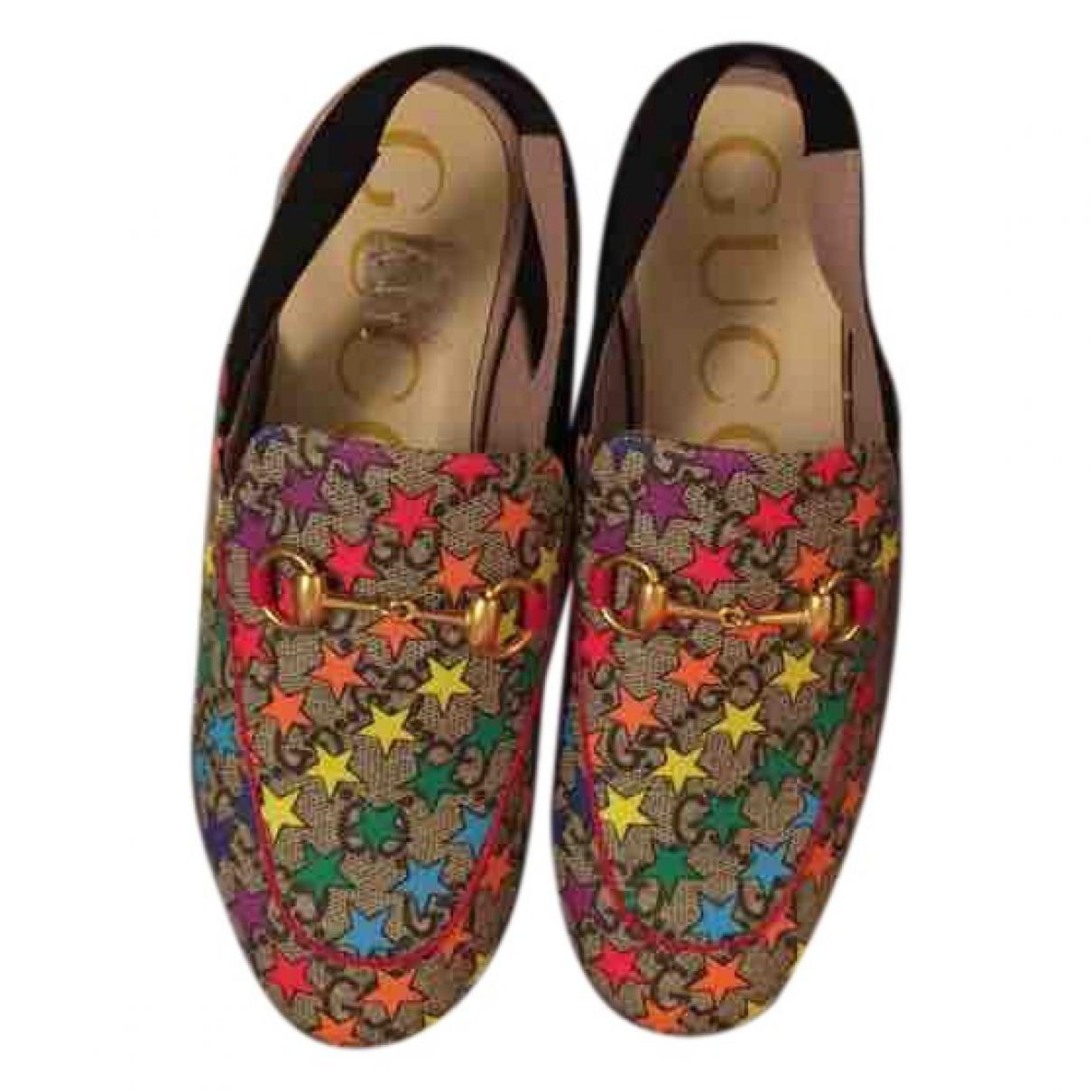 Gucci \N Multicolour Cloth Sandals for Kids 32 EU