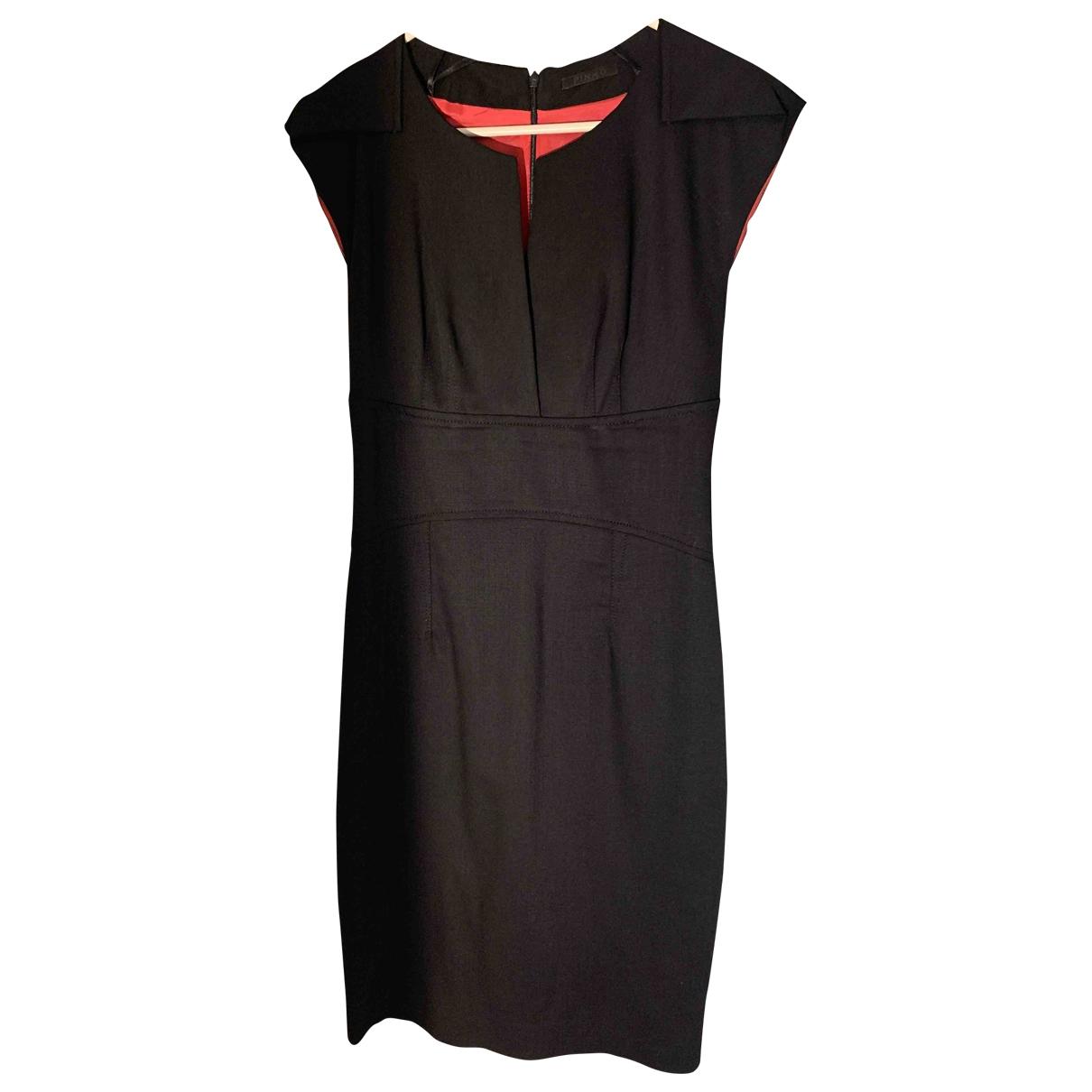 Pinko \N Kleid in  Schwarz Wolle