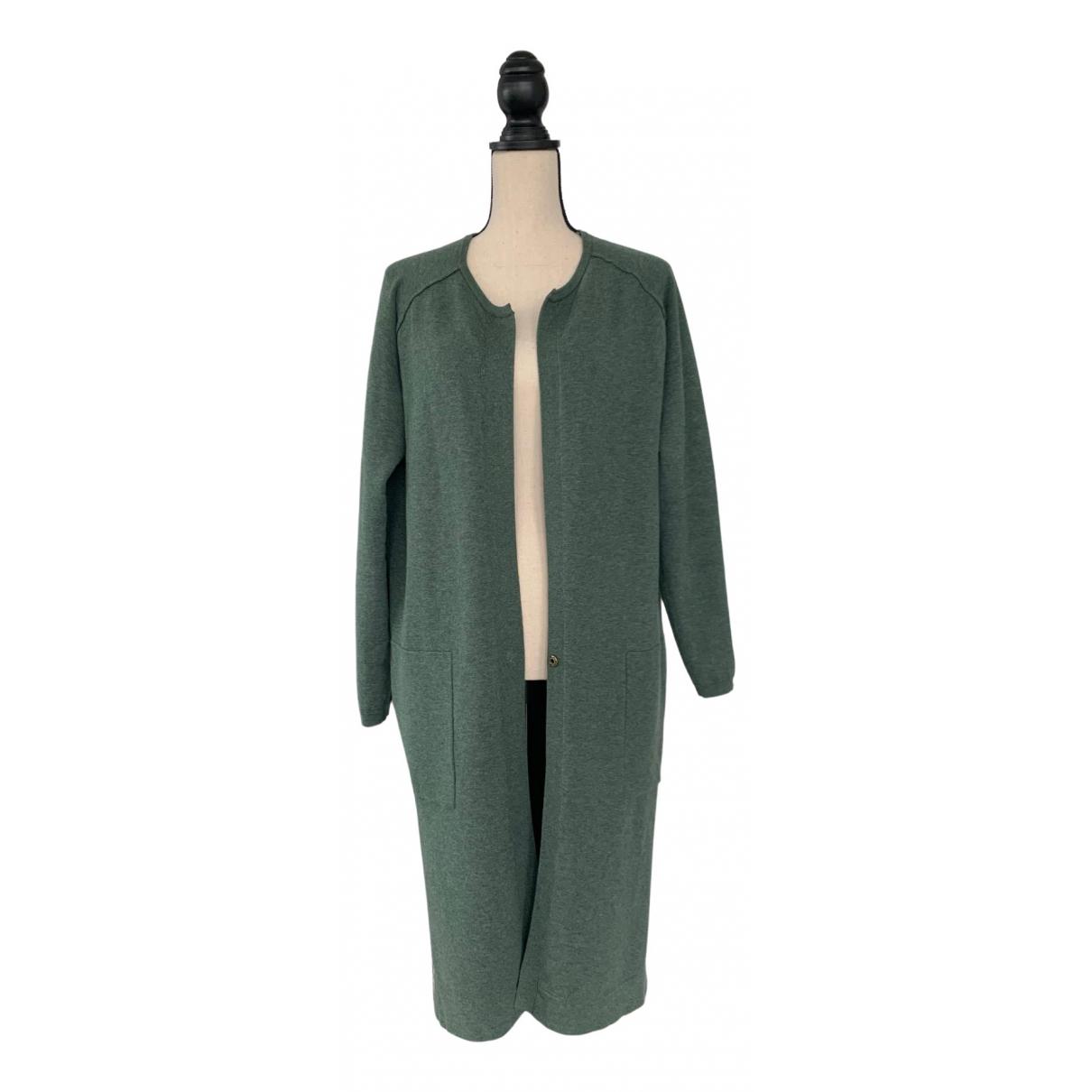 Humanoid - Pull   pour femme en coton - vert