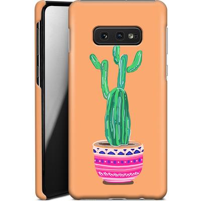 Samsung Galaxy S10e Smartphone Huelle - Cacti Love von Mukta Lata Barua