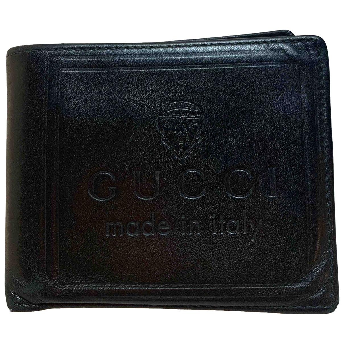 Gucci - Petite maroquinerie   pour homme en cuir - vert