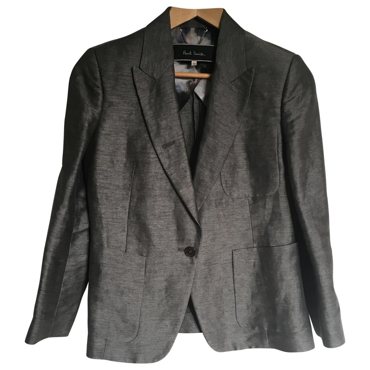 Paul Smith - Veste   pour femme en lin - gris