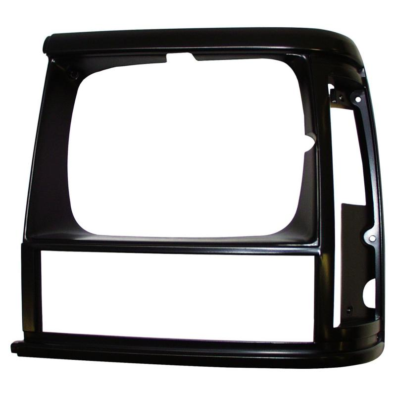 Crown Automotive 55034075 Jeep Replacement Left Black Headlight Bezel for 91/96 XJ Cherokee & 91/92 MJ Comanche Jeep Left
