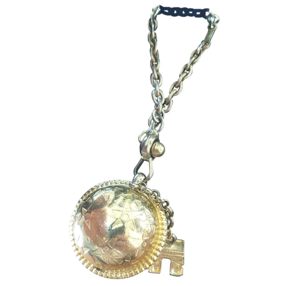 Celine - Bijoux de sac   pour femme en metal - dore
