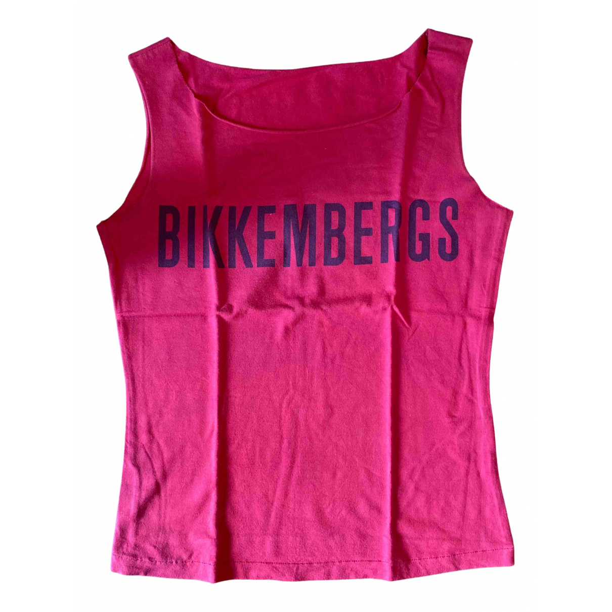 Dirk Bikkembergs N Red Cotton  top for Women XS International