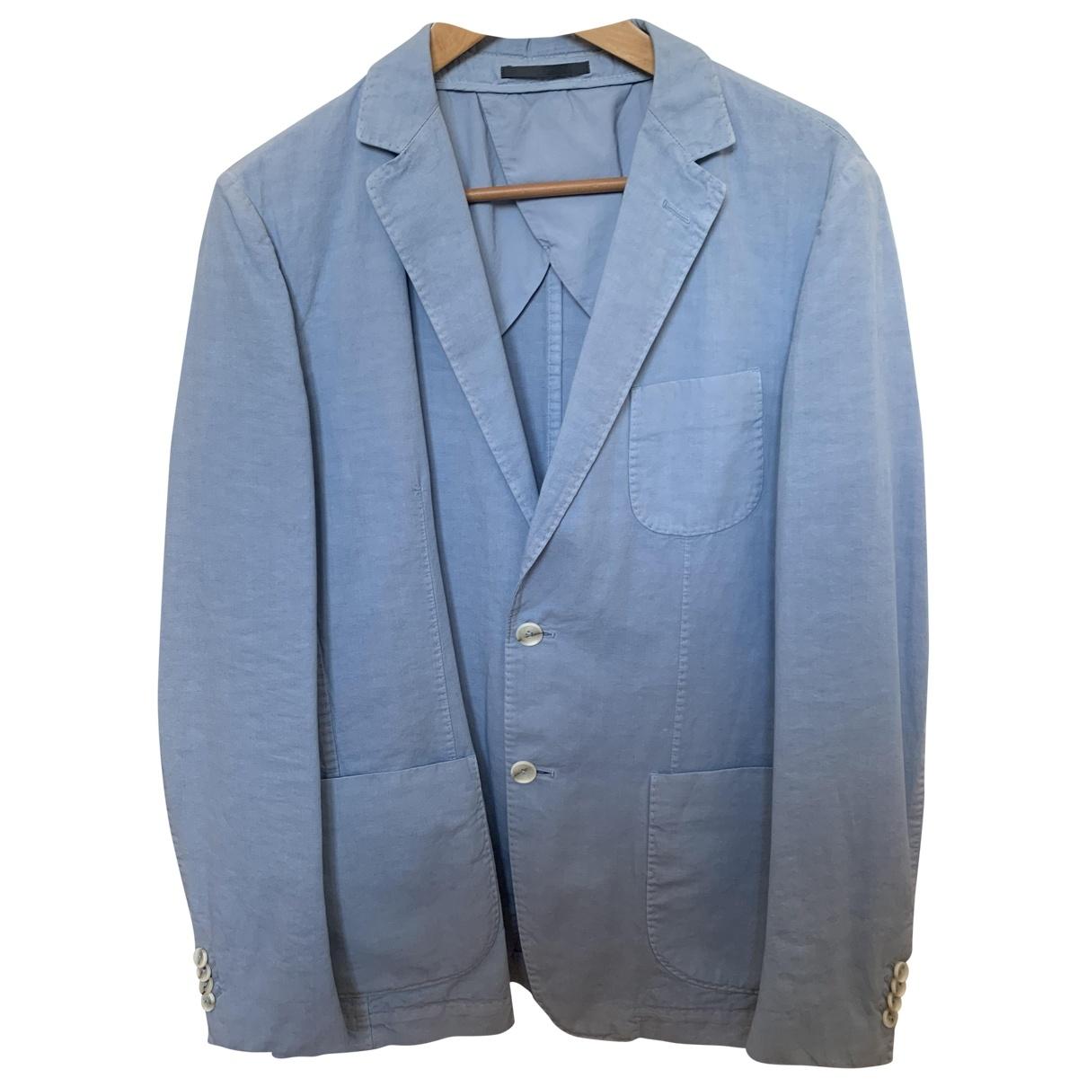 Z Zegna \N Blue Cotton jacket  for Men M International