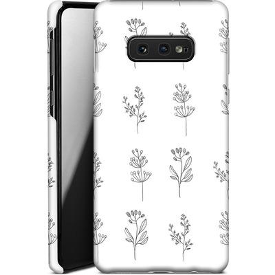 Samsung Galaxy S10e Smartphone Huelle - Botanic Studies von Lucy Bohr