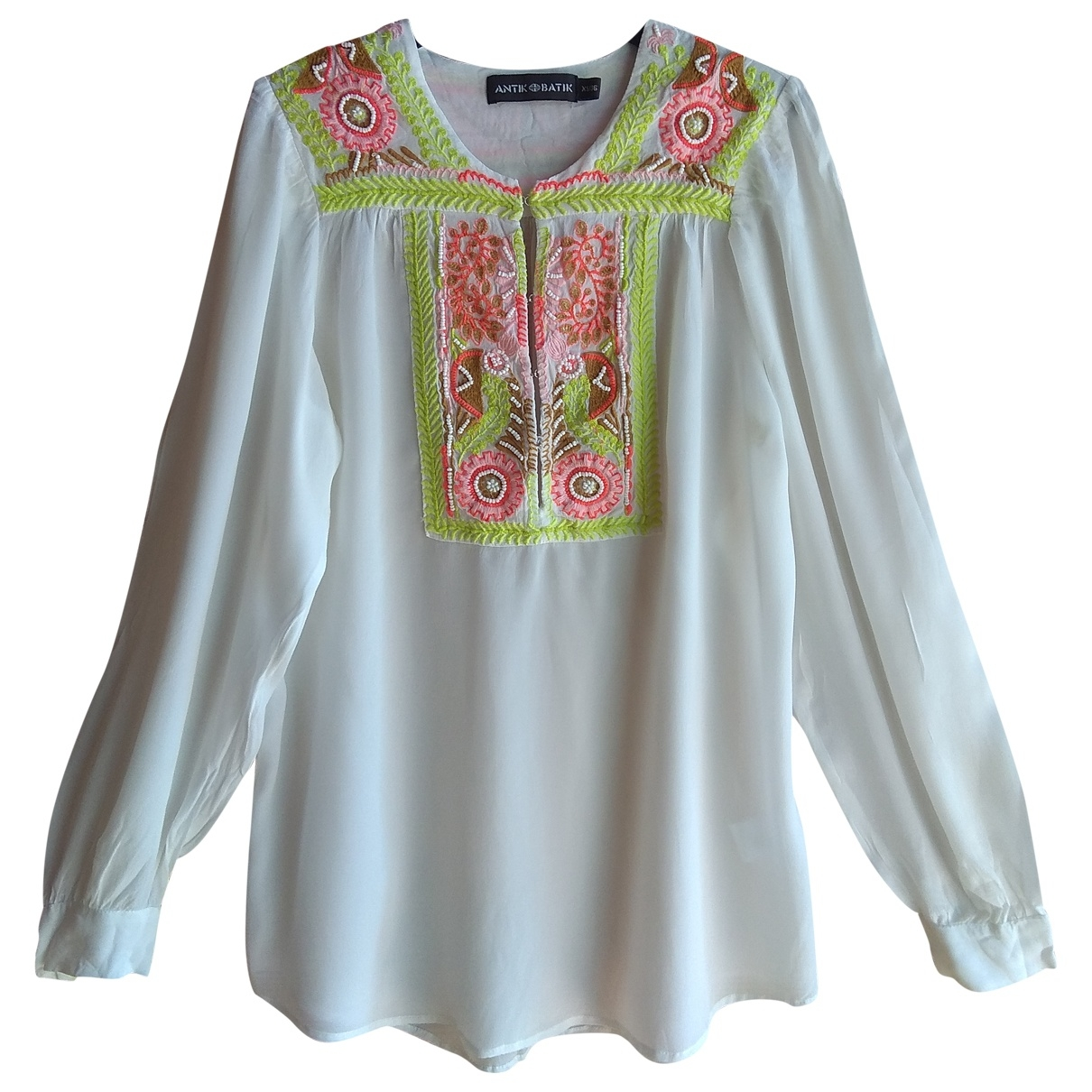 Antik Batik - Top   pour femme - blanc