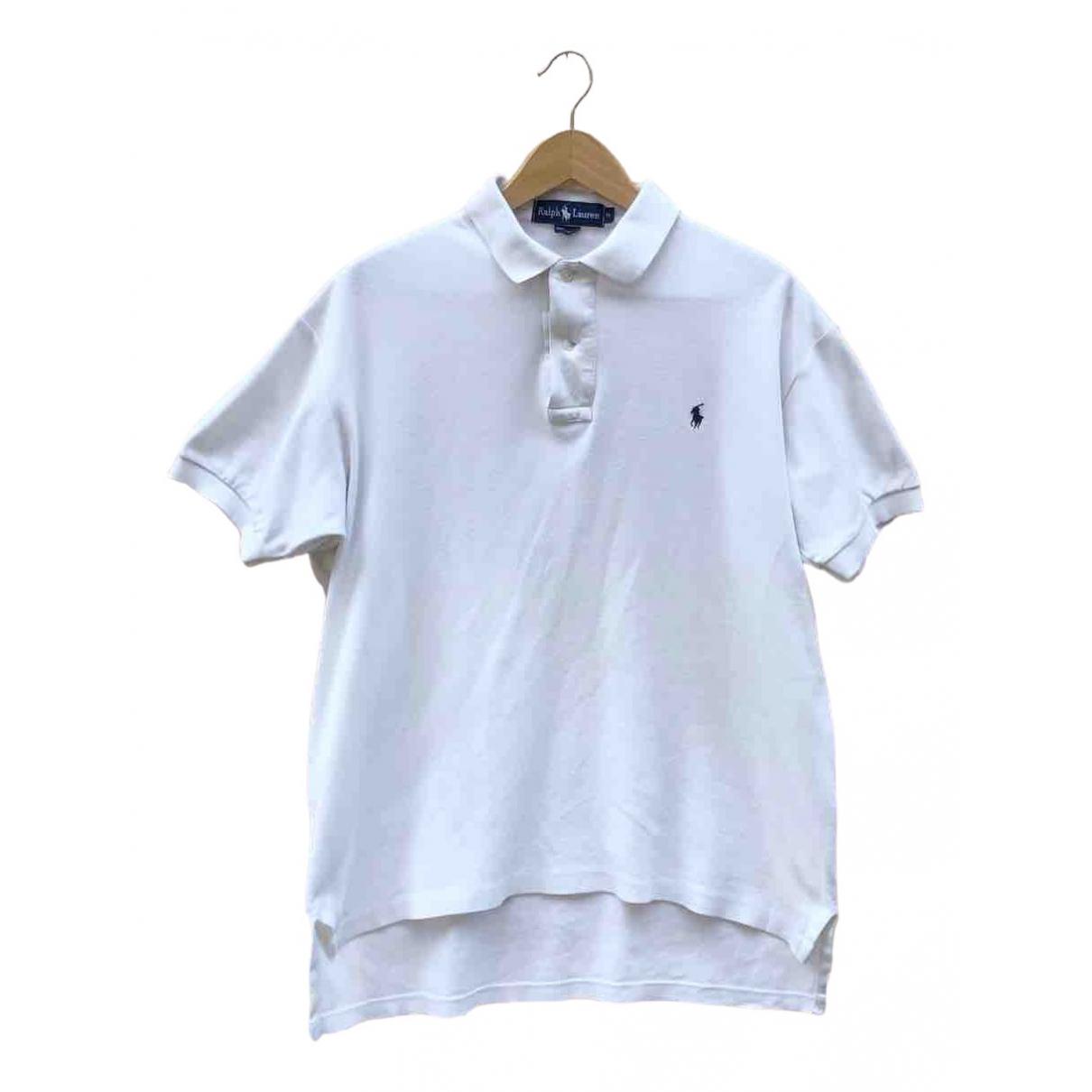 Ralph Lauren - Polos   pour homme en coton - blanc