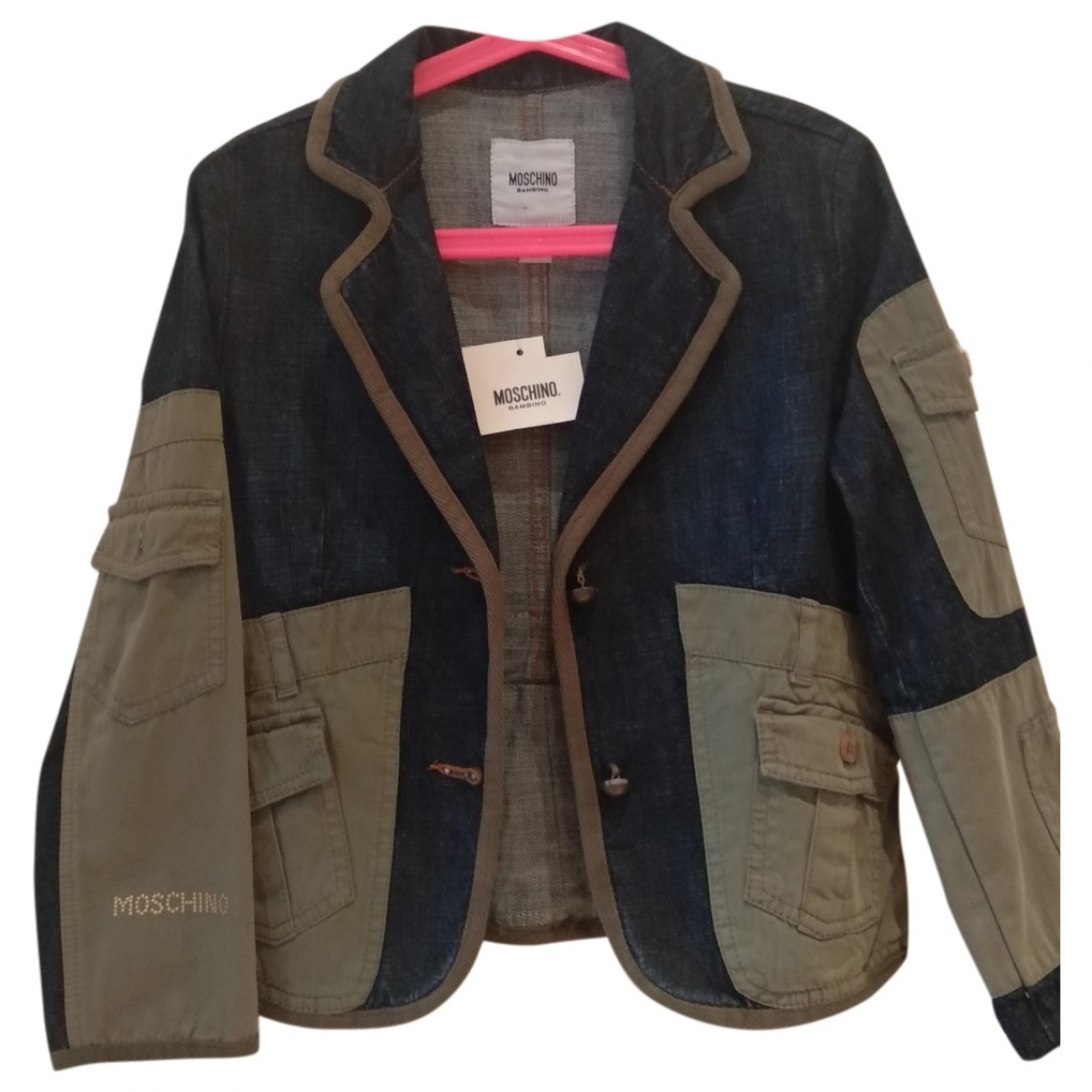 Moschino \N Blue Denim - Jeans jacket & coat for Kids 8 years - up to 128cm FR
