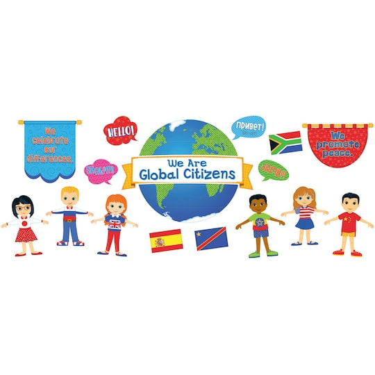 Carson-Dellosa™ We Are Global Citizens Bulletin Board Set By Carson Dellosa | Michaels®