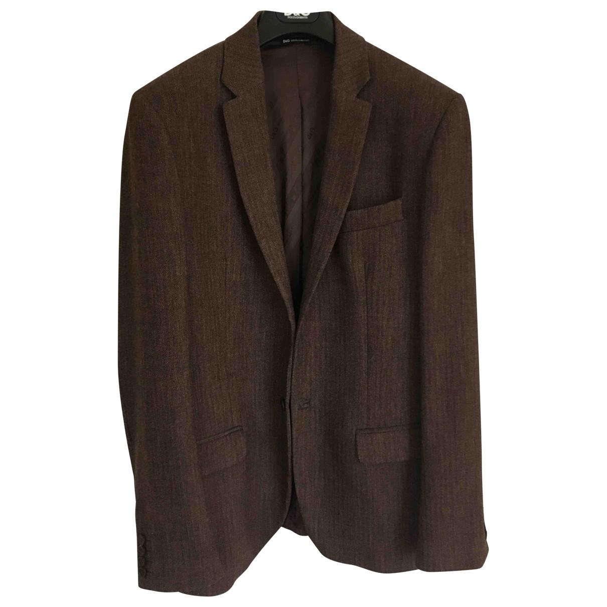 D&g - Vestes.Blousons   pour homme en laine - marron