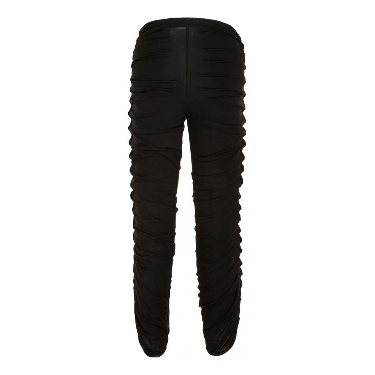 Giorgio Armani N Black Trousers for Women 32 FR