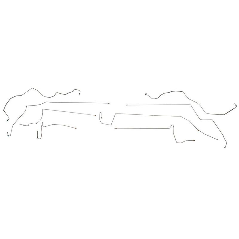 Fine Lines OIN9603SS Intermediate Brake Line For 96-01 Lexus ES 300 AWABS A.W Disc No Traction Control Stainless