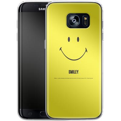 Samsung Galaxy S7 Edge Silikon Handyhuelle - Smiley All Over von Smiley®
