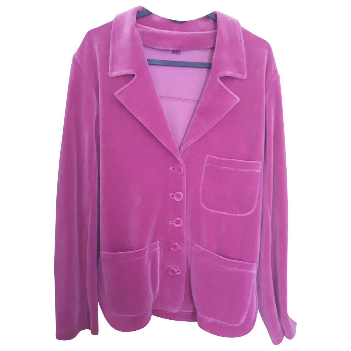 Sonia Rykiel - Veste   pour femme en coton - rose