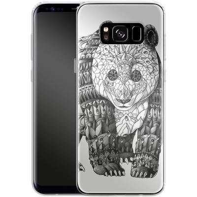 Samsung Galaxy S8 Silikon Handyhuelle - Panda von BIOWORKZ