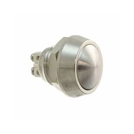 Bulgin Single Pole Single Throw (SPST) Momentary Push Button Switch, IP67, Panel Mount, 36V dc