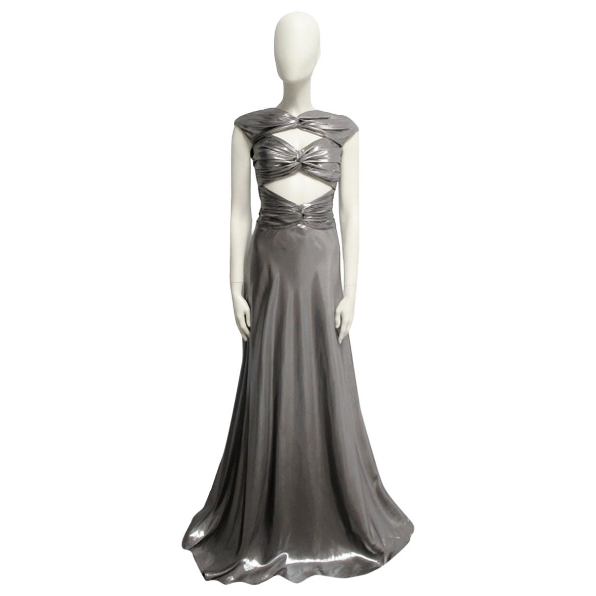 Vionnet \N Silver Silk dress for Women 40 IT