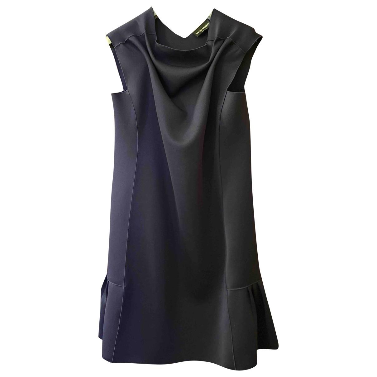 Emporio Armani \N Blue dress for Women 42 IT