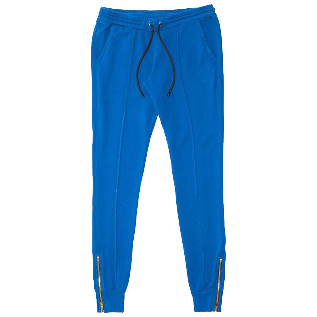 Pantalon en Algodon Azul Cotton Citizen