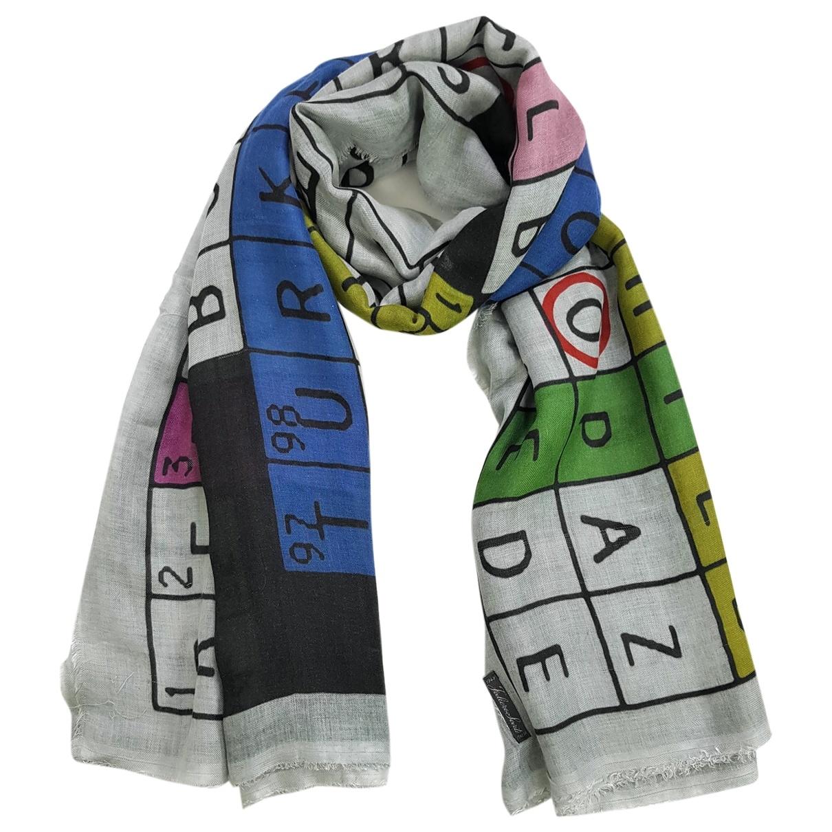 Faliero Sarti \N Multicolour scarf for Women \N