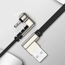 1pc Elbow Phone Data Cable