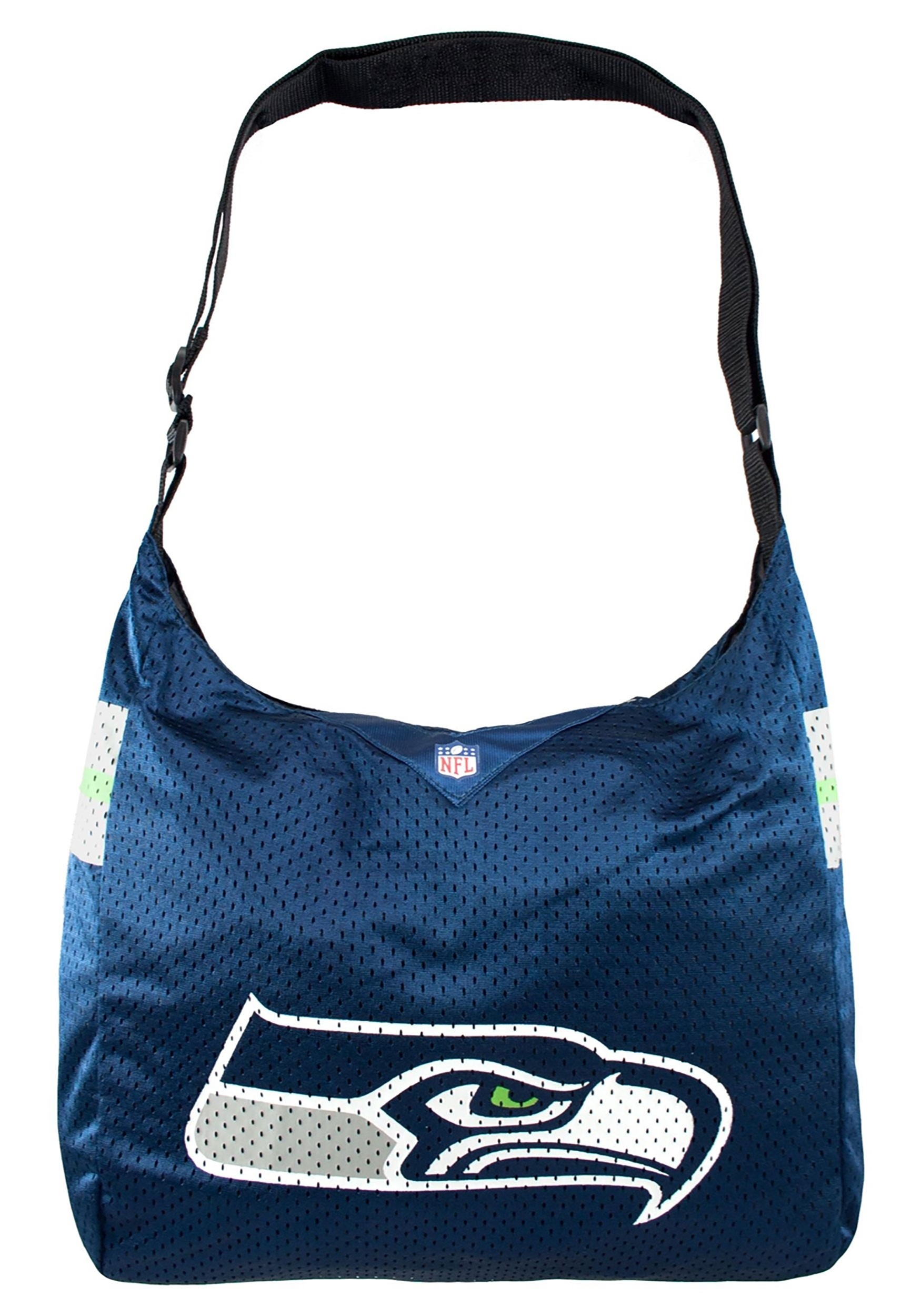 Seattle Seahawks NFL Team Jersey Tote Bag