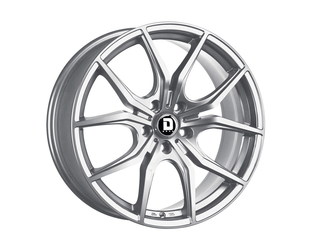 Drag DR-67 Platinum Silver Full Painted 19x8 5x114.3 40