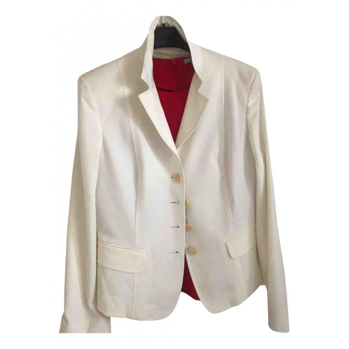 Marella - Veste   pour femme en coton - blanc
