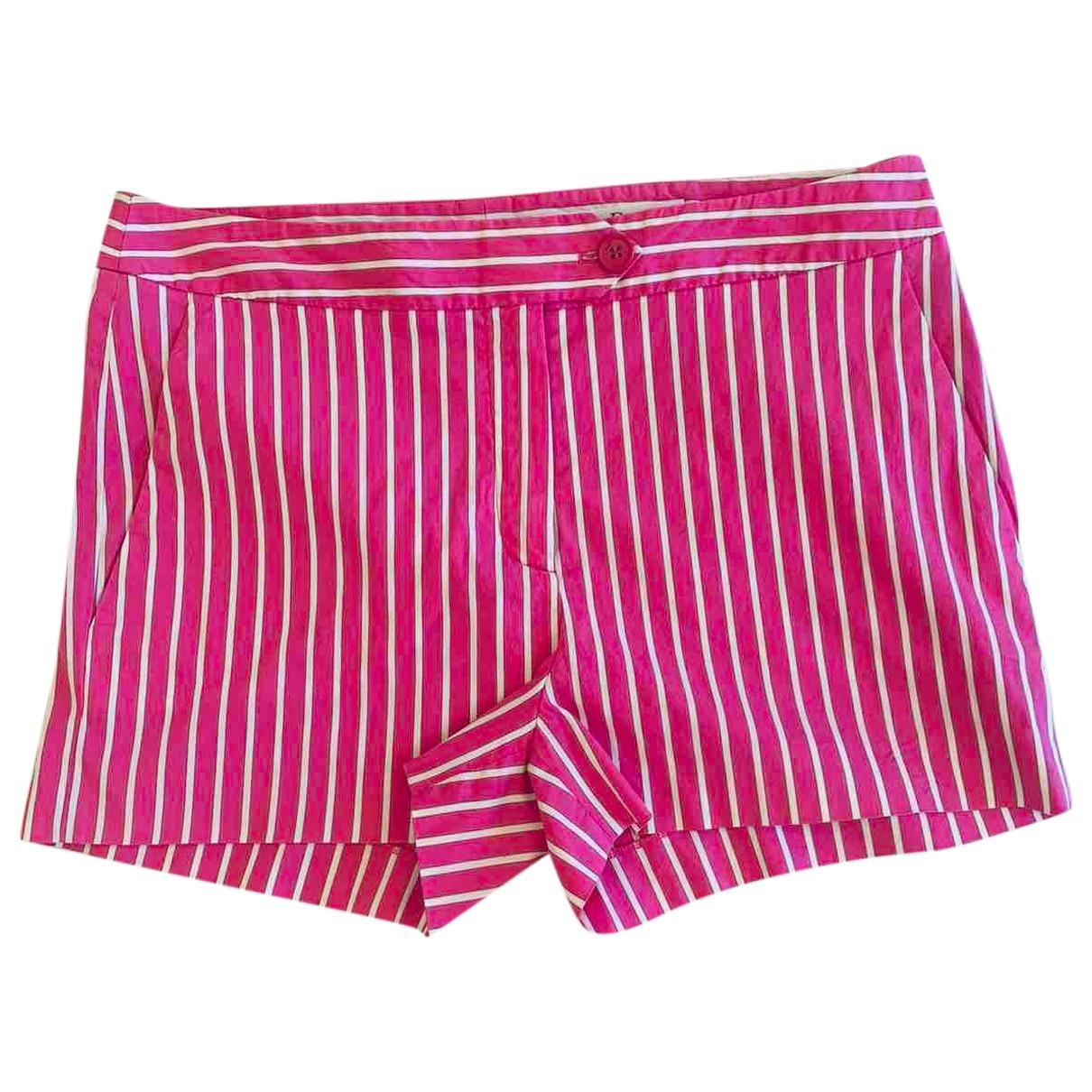 Christian Dior \N Shorts in  Rosa Baumwolle
