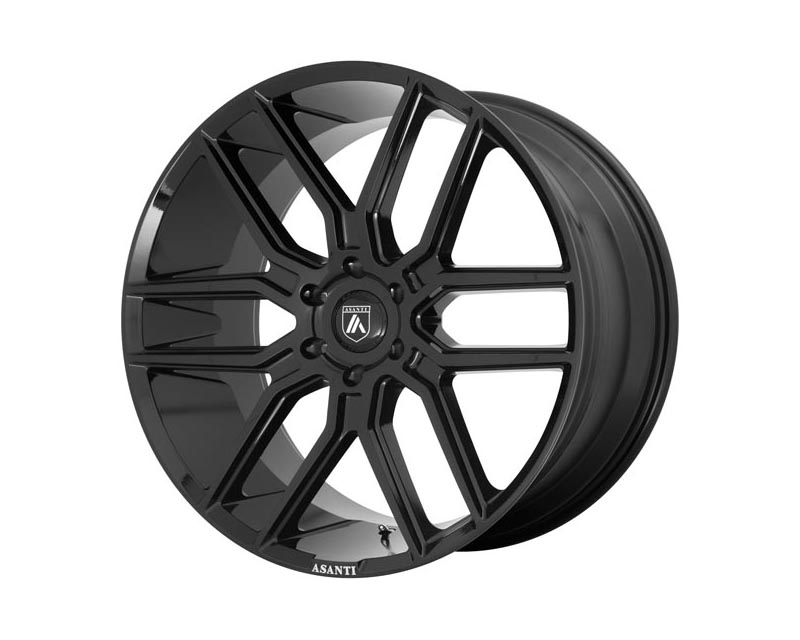 Asanti ABL28-20906230BK Black Baron Wheel 20x9 6X5.5 30mm Gloss Black
