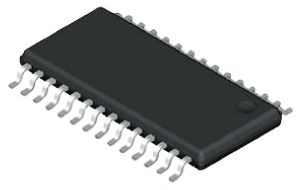 Analog Devices AD5546CRUZ, 2-Channel Parallel DAC, 2Msps, 28-Pin TSSOP