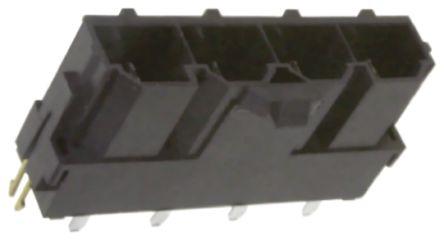 Molex , Mini-Fit Sr, 42819, 2 Way, 1 Row, Vertical PCB Header