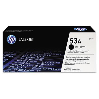 HP 53A Q7553A Original Black Toner Cartridge