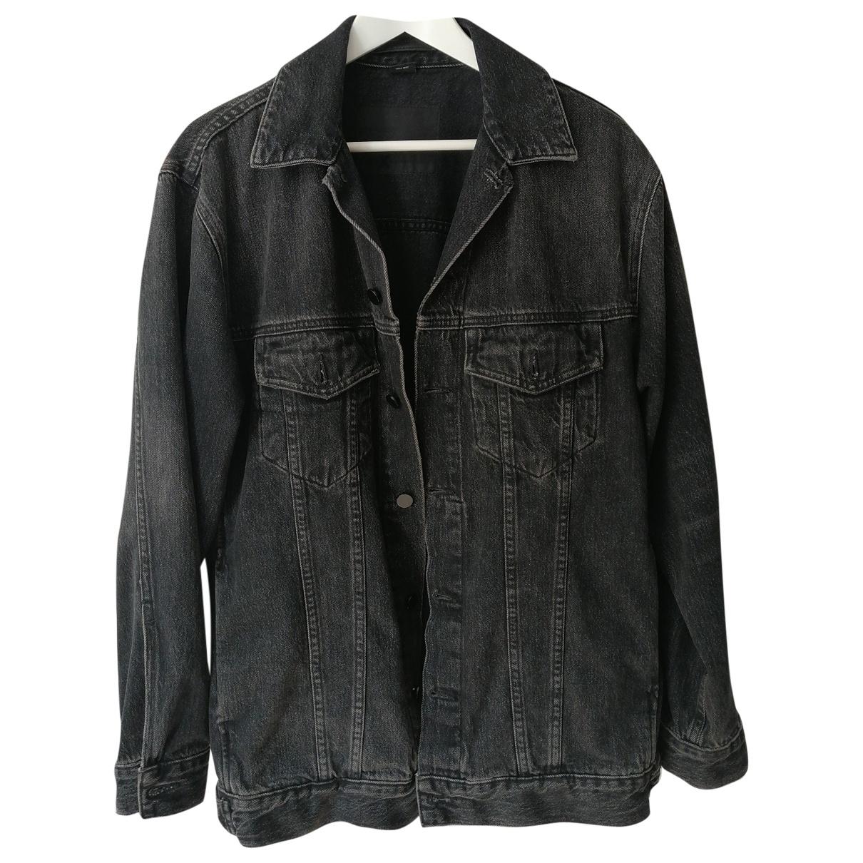 Alexander Wang \N Jacke in  Schwarz Denim - Jeans